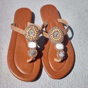 Skemo Collection Resort Thong Sandals 8 Zillah